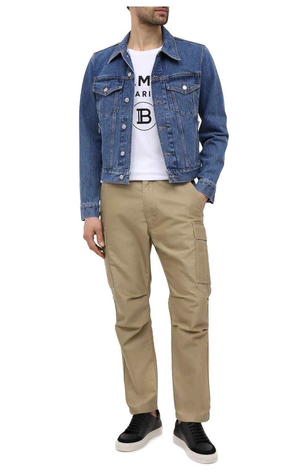 Мужские кожаные кеды AXEL ARIGATO черного цвета, арт. 28523 | Фото 2
