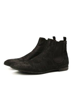 Мужские кожаные челси PREMIATA черного цвета, арт. 31832/SKIPPER B. | Фото 1 (Подошва: Плоская; Мужское Кросс-КТ: Сапоги-обувь, Челси-обувь; Материал внутренний: Натуральная кожа)