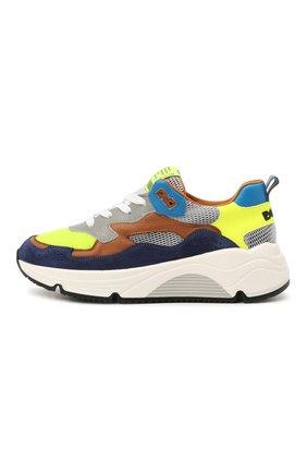 Детские замшевые кроссовки RONDINELLA разноцветного цвета, арт. 11712/6058/31-33 | Фото 2