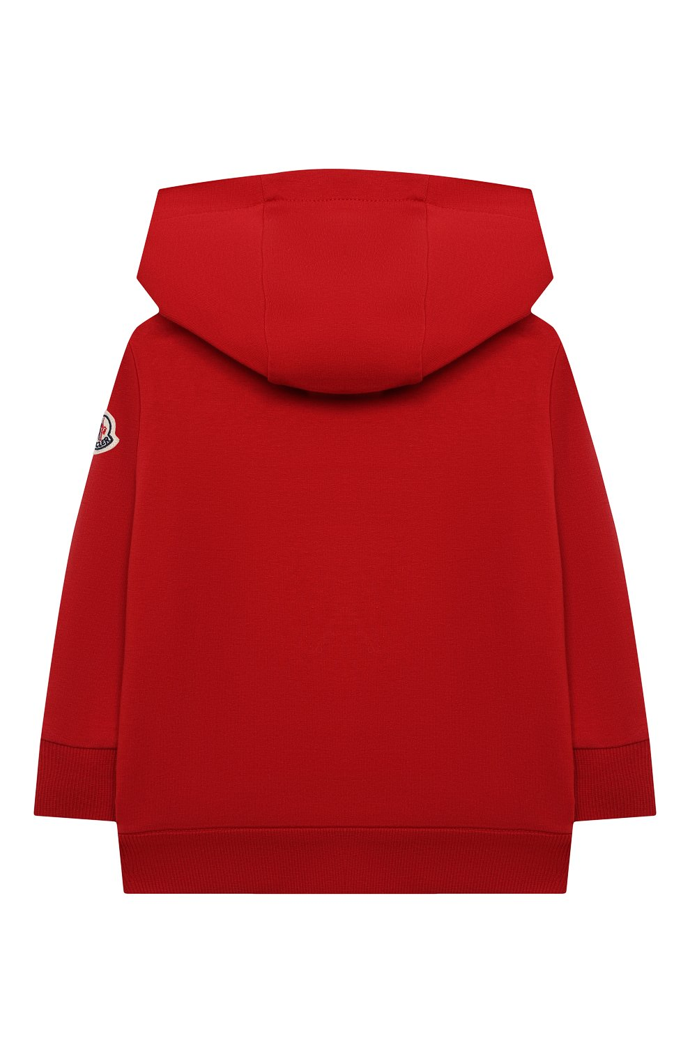 Детский комплект из толстовки и брюк MONCLER красного цвета, арт. G1-951-8M741-20-809AC   Фото 3