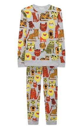 Детского костюм из свитшота и брюк STELLA MCCARTNEY разноцветного цвета, арт. 602855/SQJ17 | Фото 1