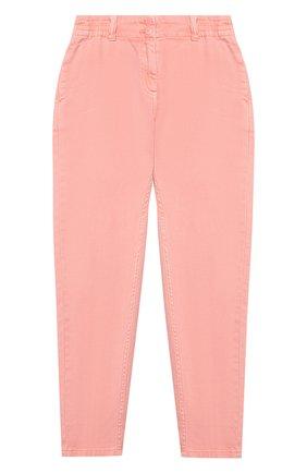 Детские джинсы STELLA MCCARTNEY розового цвета, арт. 602747/SQKA8 | Фото 1