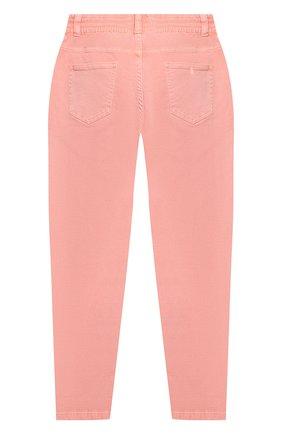 Детские джинсы STELLA MCCARTNEY розового цвета, арт. 602747/SQKA8 | Фото 2