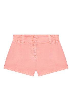 Детские джинсовые шорты STELLA MCCARTNEY розового цвета, арт. 602728/SQKA8 | Фото 1