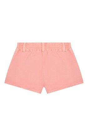 Детские джинсовые шорты STELLA MCCARTNEY розового цвета, арт. 602728/SQKA8 | Фото 2