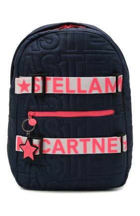 Детская рюкзак STELLA MCCARTNEY темно-синего цвета, арт. 602667/SQD05 | Фото 1