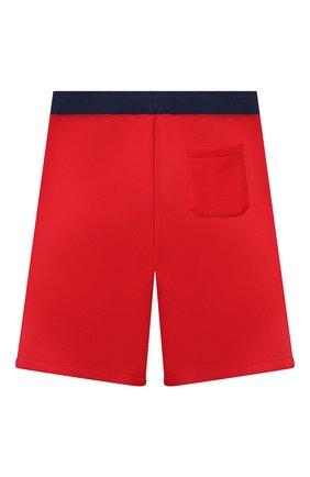 Детские хлопковые шорты RALPH LAUREN красного цвета, арт. 323834925   Фото 2