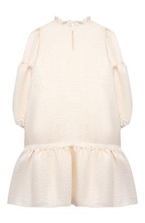 Детское платье из вискозы DOUUOD белого цвета, арт. 21E/U/JR/AB04/2710/10A-14A | Фото 2