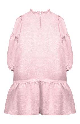Детское платье из вискозы DOUUOD розового цвета, арт. 21E/U/JR/AB04/2710/10A-14A | Фото 2