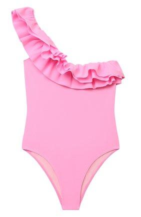 Детского слитный купальник DOUUOD розового цвета, арт. 21E/U/JR/BW01/1600/10A-14A | Фото 1