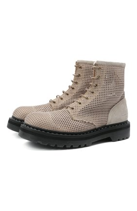 Женские текстильные ботинки PREMIATA бежевого цвета, арт. M6002/NEW R0DI | Фото 1