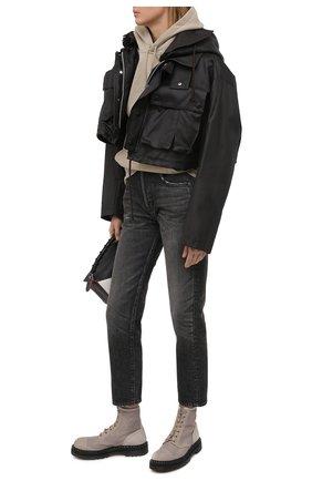 Женские текстильные ботинки PREMIATA бежевого цвета, арт. M6002/NEW R0DI | Фото 2