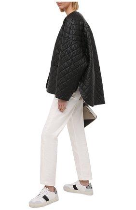 Женские кожаные кеды dunk v2 AXEL ARIGATO белого цвета, арт. 94557 | Фото 2