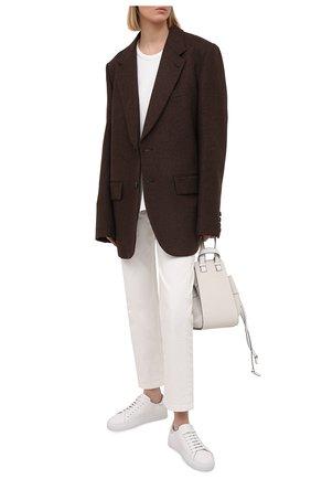 Женские кожаные кеды clean 90 AXEL ARIGATO серебряного цвета, арт. 98673 | Фото 2