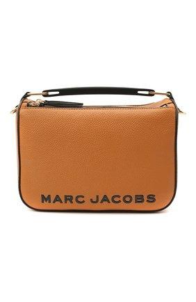 Женская сумка the box 23 MARC JACOBS (THE) коричневого цвета, арт. M0017037 | Фото 1
