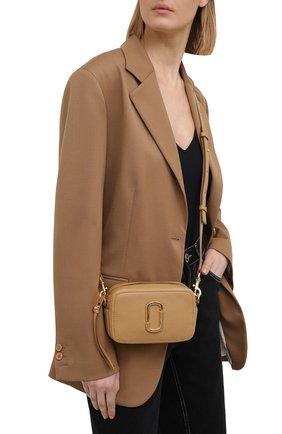 Женская сумка the softshot 17 MARC JACOBS (THE) бежевого цвета, арт. M0016805   Фото 2
