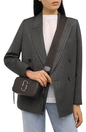 Женская сумка snapshot MARC JACOBS (THE) серого цвета, арт. M0014867   Фото 2