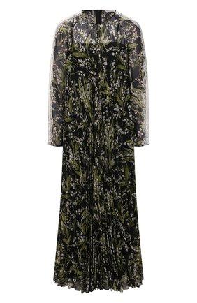 Женское платье REDVALENTINO черного цвета, арт. VR3VAY50/5LR | Фото 1