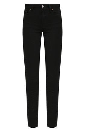 Женские джинсы ACNE STUDIOS черного цвета, арт. A00203 | Фото 1