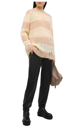 Женский свитер ACNE STUDIOS желтого цвета, арт. A60243   Фото 2