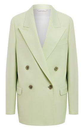 Женский жакет ACNE STUDIOS зеленого цвета, арт. AH0130   Фото 1