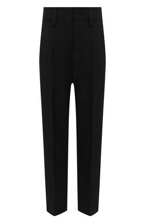 Женские шерстяные брюки ACNE STUDIOS черного цвета, арт. AK0381 | Фото 1