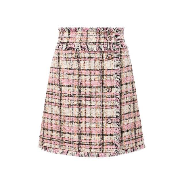 Твидовая юбка MSGM