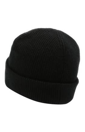 Мужская шерстяная шапка ACNE STUDIOS черного цвета, арт. C40134/M | Фото 2