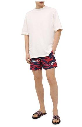 Мужские текстильные шлепанцы bonks BALLY бордового цвета, арт. B0NKS-T/218 | Фото 2 (Материал внутренний: Натуральная кожа; Материал внешний: Текстиль)