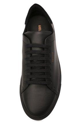 Мужские кожаные кеды AXEL ARIGATO черного цвета, арт. 28116 | Фото 5