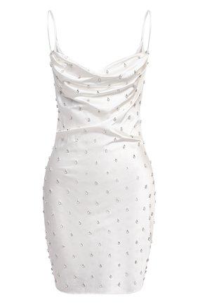 Женское платье GIUSEPPE DI MORABITO белого цвета, арт. SS21137DR-92 | Фото 1