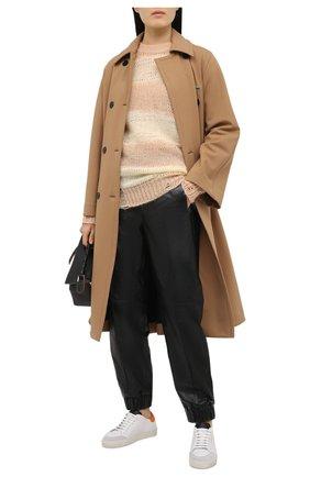 Женские кожаные кеды clean 90 triple AXEL ARIGATO оранжевого цвета, арт. 98487 | Фото 2