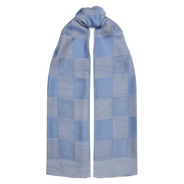 Шелковый шарф Giorgio Armani