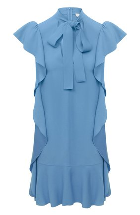 Женское платье REDVALENTINO голубого цвета, арт. VR3VAW95/0F1 | Фото 1