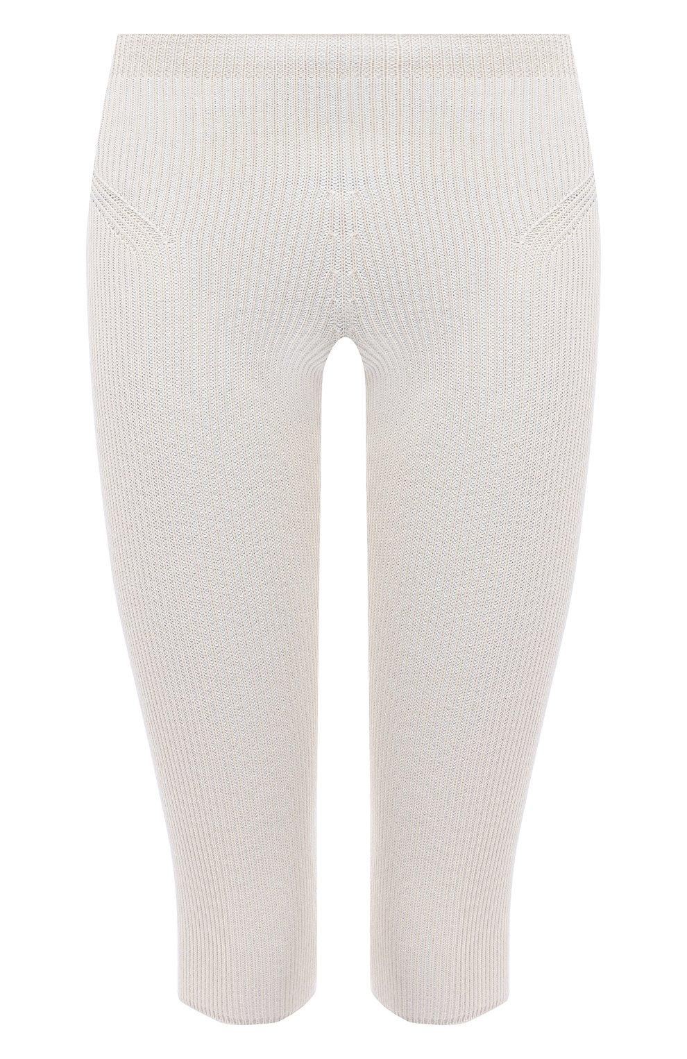 Женские шорты из вискозы JACQUEMUS светло-бежевого цвета, арт. 211KN12/204801 | Фото 1