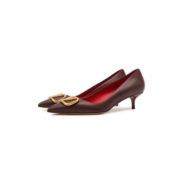 Кожаные туфли Valentino Garavani VLogo Signature Valentino