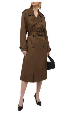 Женские кожаные туфли dailka 85 BALLY черного цвета, арт. DAIKA 85-STRA/00 | Фото 2