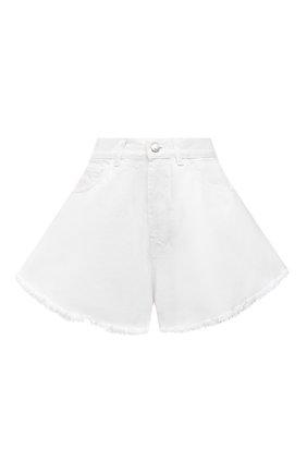 Женские джинсовые шорты FORTE DEI MARMI COUTURE белого цвета, арт. 21SF9877 | Фото 1