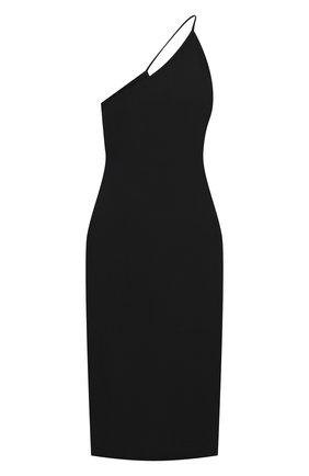 Женское платье ACNE STUDIOS черного цвета, арт. A20273 | Фото 1
