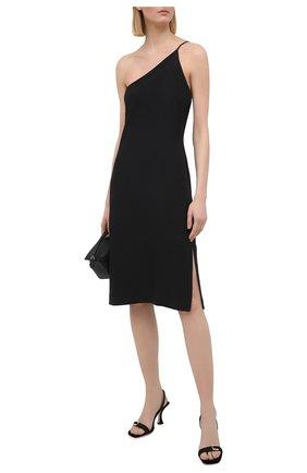 Женское платье ACNE STUDIOS черного цвета, арт. A20273   Фото 2