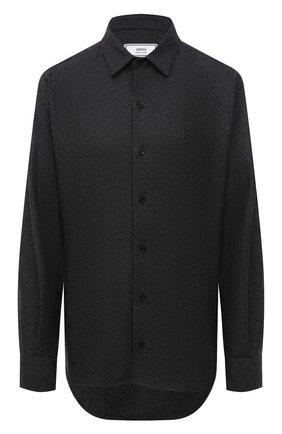 Женская рубашка AMI темно-серого цвета, арт. H20FC139.422 | Фото 1