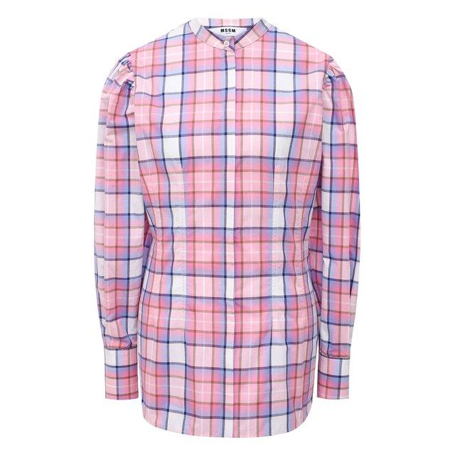 Хлопковая рубашка MSGM