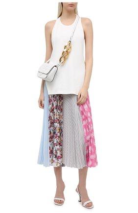Женская плиссированная юбка MSGM разноцветного цвета, арт. 3041MDD29P 217275   Фото 2