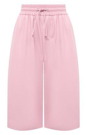 Женские шорты из экокожи MSGM светло-розового цвета, арт. 3041MDB01A 217101 | Фото 1