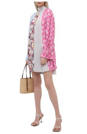 Женское платье MSGM разноцветного цвета, арт. 3041MDA32P 217275   Фото 2
