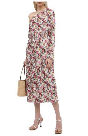 Женское платье MSGM белого цвета, арт. 3041MDA26Y 217150   Фото 2