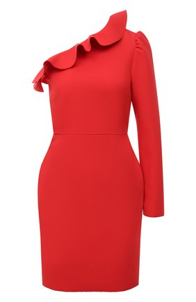 Женское платье MSGM красного цвета, арт. 3041MDA06 217100 | Фото 1