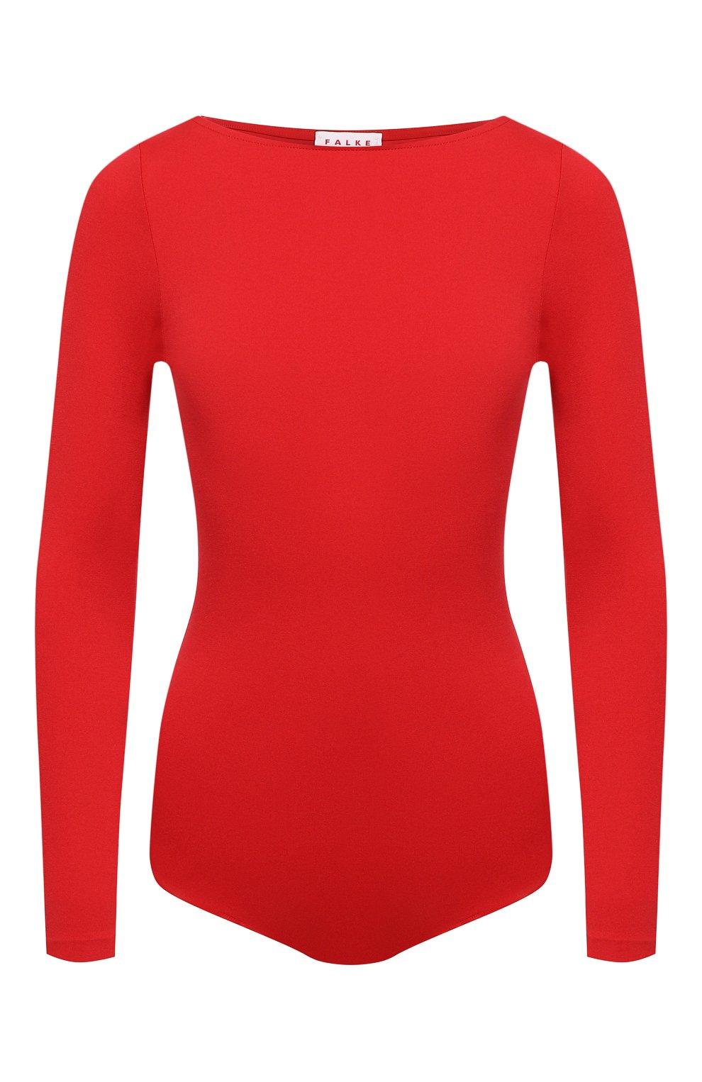 Женское боди FALKE красного цвета, арт. 40925   Фото 1