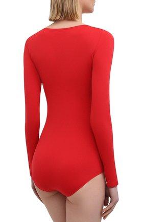 Женское боди FALKE красного цвета, арт. 40925   Фото 3