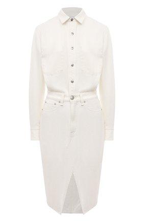 Женское джинсовое платье RAG&BONE белого цвета, арт. WCW20H30024D02 | Фото 1